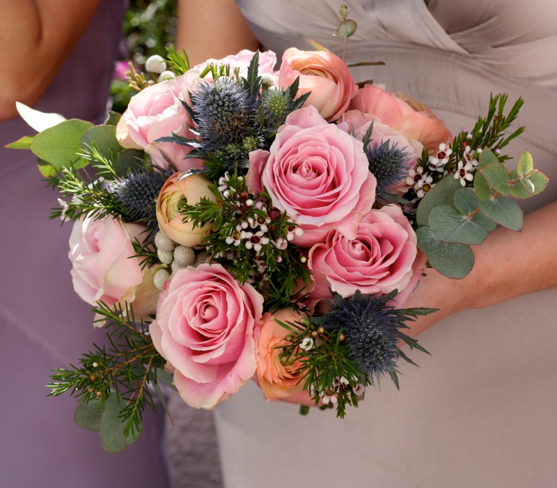 RhosYGilwen wedding flowers