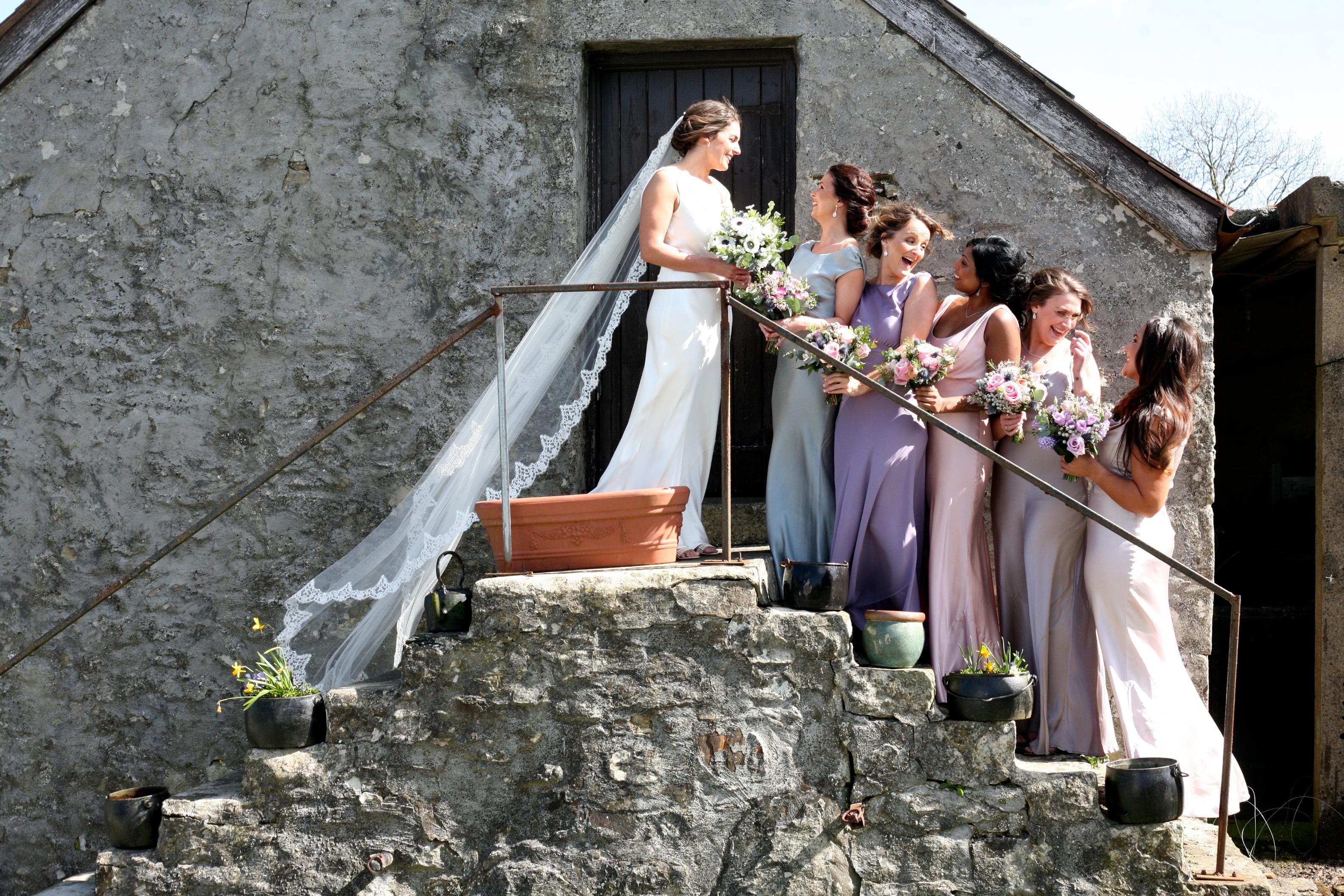 Rhosygilwen wedding dresses